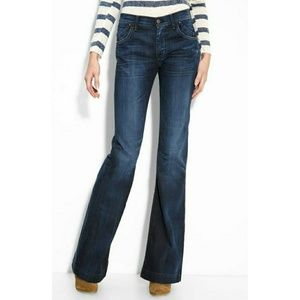 Citizens of humanity hutton wide leg jeans size 27